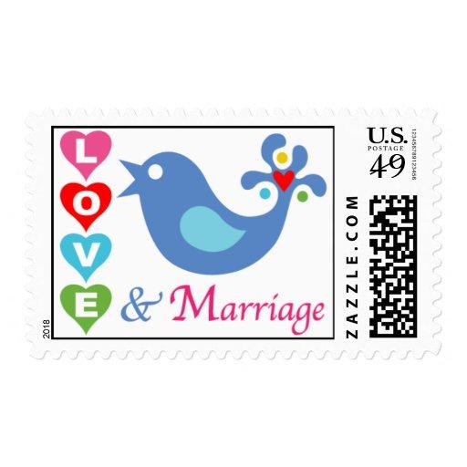 Sello del amor y de la boda