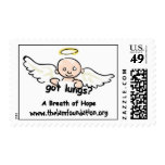 Sello del ángel del bebé - fundación de la FUGA