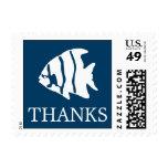 Sello del Angelfish (azules marinos de las gracias