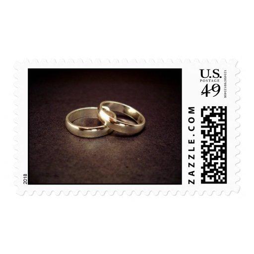 Sello del anillo de bodas