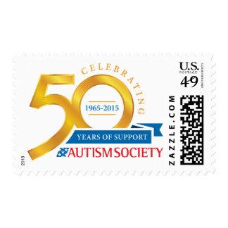 Sello del aniversario de la sociedad 50.a del