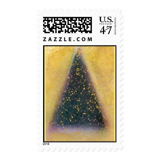 Sello del árbol de navidad