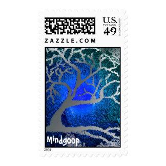sello del árbol de plata del yule