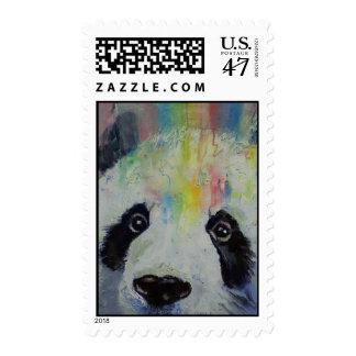 Sello del arco iris de la panda