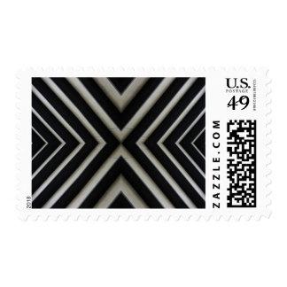 Sello del arte abstracto del metal X