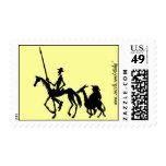 Sello del arte gráfico del Don Quijote y de Sancho
