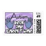 Sello del autismo: Oiga el anuncio entender