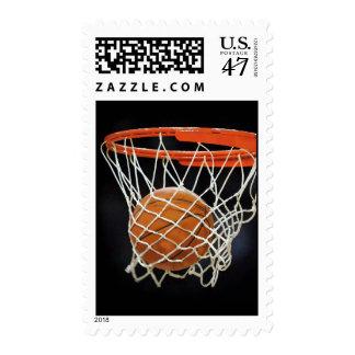 Sello del baloncesto