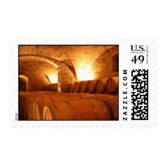 Sello del barril de vino