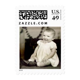 Sello del bebé del vintage pequeño