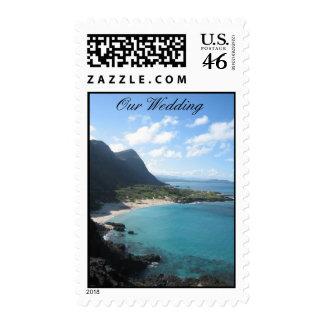 Sello del boda de Hawaii