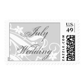 Sello del boda de julio