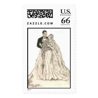 Sello del boda de República eo Tchad y de Donna