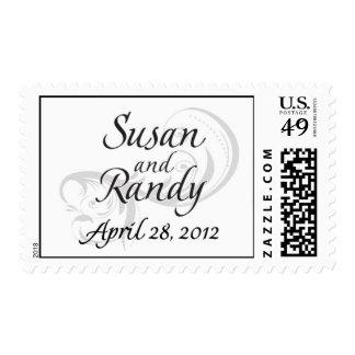Sello del boda de Susan y de Randy Szabo