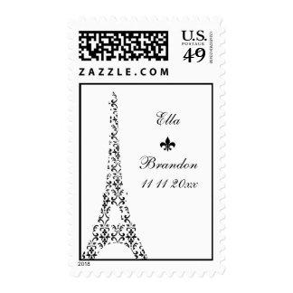 Sello del boda de Tre París