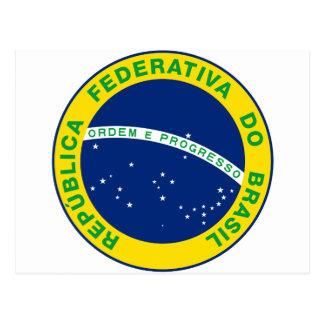 Sello del Brasil Postales