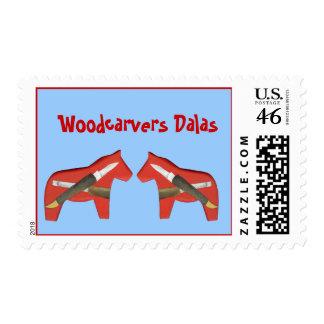 Sello del caballo de Dala de los Woodcarvers
