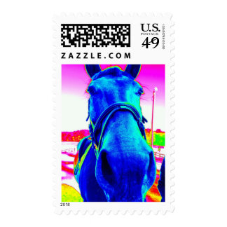 Sello del caballo del arte pop