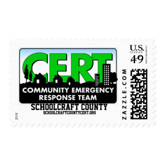 Sello del CERT de Schoolcraft Co.
