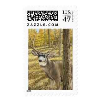Sello del ciervo mula