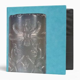 """Sello del cilindro del Achaemenid Carpeta 1 1/2"""""""