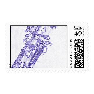 Sello del Clarinet para las letras de envío