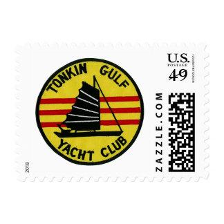 Sello del club náutico del golfo de Tonkin