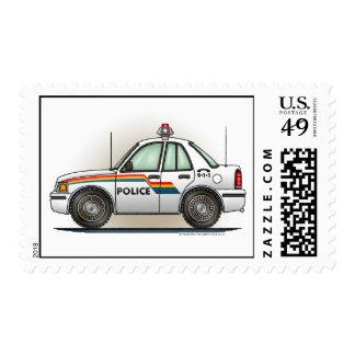 Sello del coche del crucero de la policía