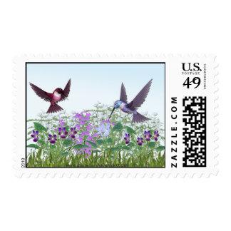 Sello del colibrí