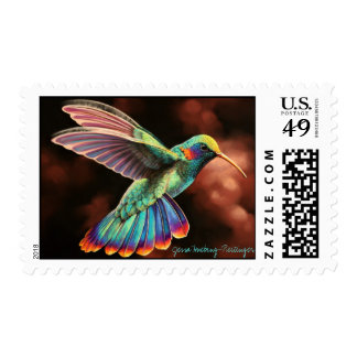 Sello del colibrí 2