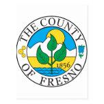 Sello del condado de Fresno Postal