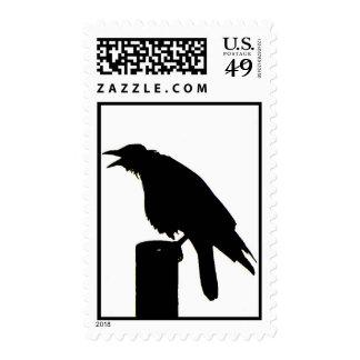 Sello del cuervo