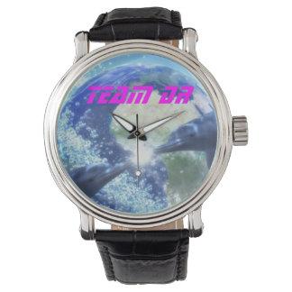 Sello del delfín del reloj de la aprobación