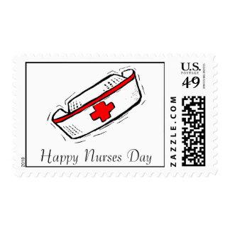 Sello del día de las enfermeras