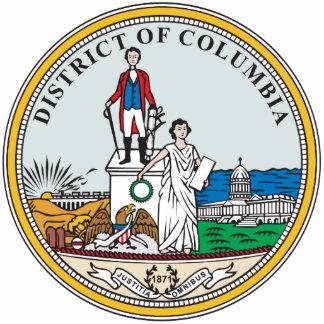 Sello del distrito de Columbia Escultura Fotográfica