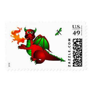 Sello del dragón y de la libélula