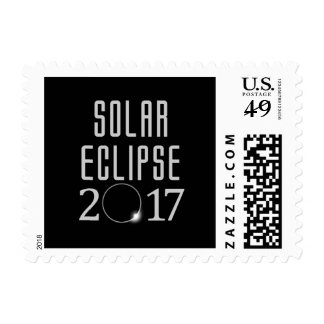 Sello del eclipse solar 2017