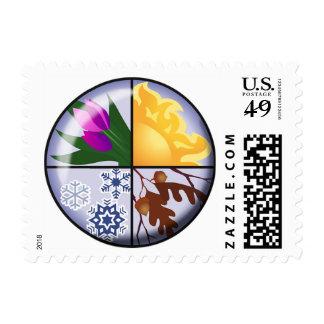 Sello del equinoccio - 1 hoja de 20 0 49 sellos