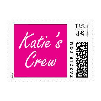 Sello del equipo de Katie