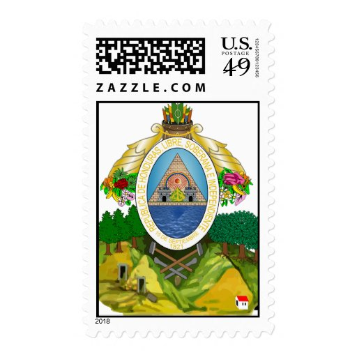 Sello del escudo de armas de Honduras