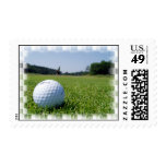 Sello del espacio abierto del golf