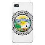 Sello del estado de Alaska iPhone 4 Carcasa