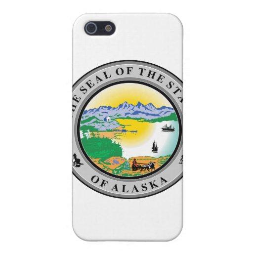 Sello del estado de Alaska iPhone 5 Carcasa