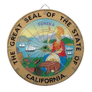 Sello del estado de California Tablero De Dardos