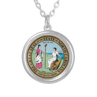 Sello del estado de Carolina del Norte Pendientes Personalizados