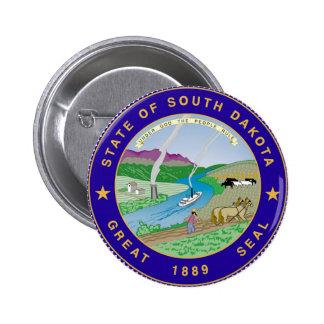 Sello del estado de Dakota del Sur Pin