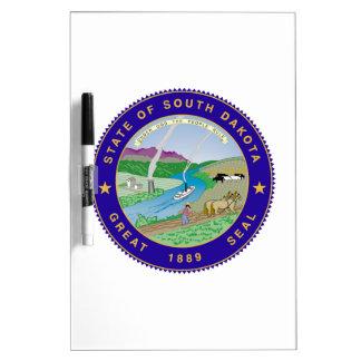 Sello del estado de Dakota del Sur Pizarras