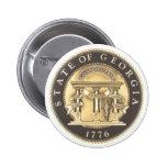 Sello del estado de Georgia Pins