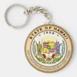 Sello del estado de Hawaii Llaveros
