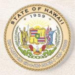Sello del estado de Hawaii Posavasos Para Bebidas